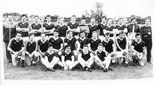1988 Senior Squad: Back row L-R B.Short (Selector), M.Mackin, J.McCormack, D.Gribben, P.McGeown, M.McGeown, M.McGeown, J.Kelly, K.Smyth, G.Campbell, G.McArdle, J.Grant (Trainer), B.McCone (Manager). Middle row L-R K.McGivern, T.O'Hare, K.Gray, B.Murphy, N.McKee, J.Gray, P.Gray, G.McClelland, P.Campbell. Front row L-R G.Gribben, N.Martin, A.Boyle, A.Leonard